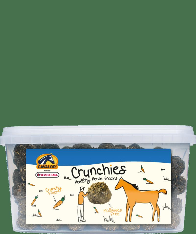 Pamlsky Cavalor CRUNCHIES - mrkvičkové - vitamínové pamlsky