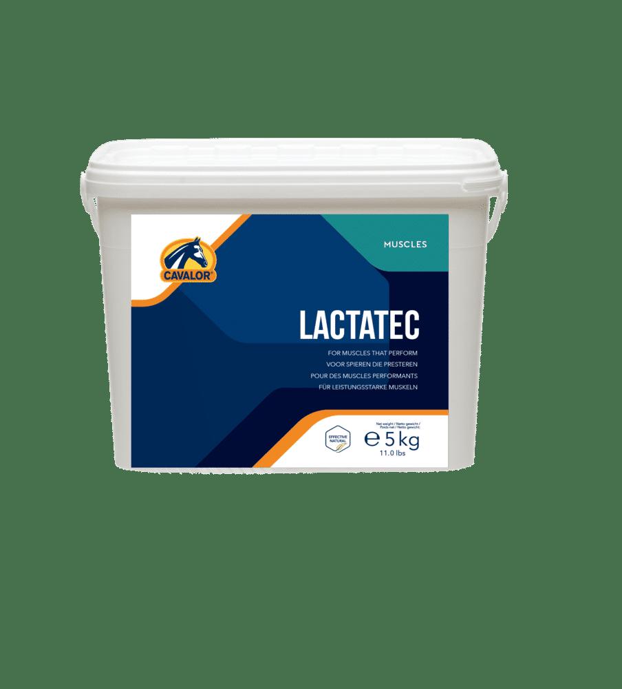 Špičkový produkt novej generácie pre kone vo vysokej športovej záťaži! Cavalor LactaTec je najkomplexnejší doplnok výživy, ktorý podporuje rôzne aktivity svalov, stimuluje regeneráciu svalov a zabraňuje svalovým problémom, ako sú stuhnutosť, poškodenie a únava. Viac tu: https://www.happyhorse.sk/products/cavalor-lactatec-2-kg-novinka-na-svalstvo-vo-vysokej-zatazi/
