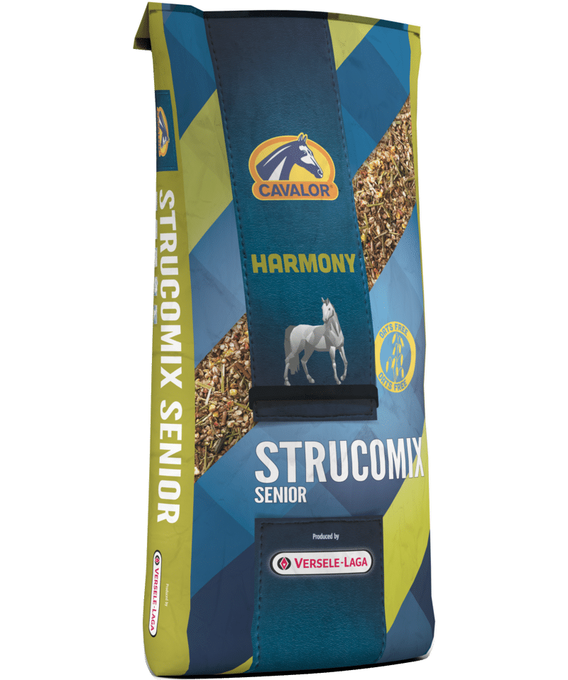 Strucomix Senior krmivo pre kone