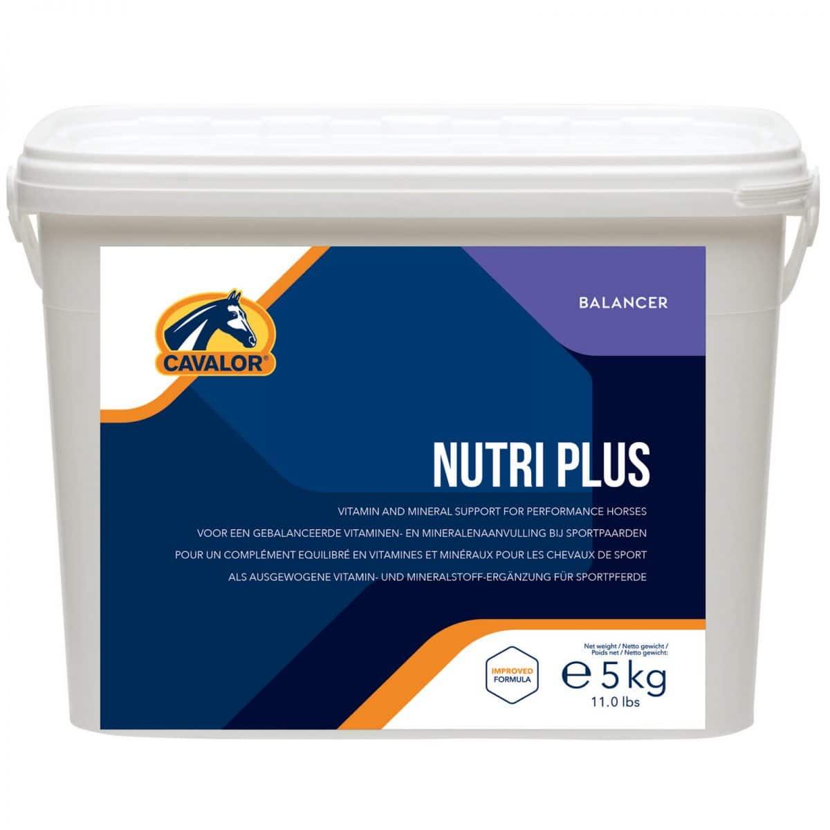 Viditeľný výkon a zdravý kôň! Granulová zmes s maximálnym množstvom minerálov a vitamínov ako kompletný doplnok pre kone v intenzívnej športovej záťaži. Viac tu: https://www.happyhorse.sk/products/cavalor-nutriplus-/